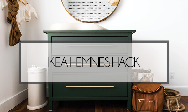 IKEA HACK – Hemnes 3 Drawer Dresser