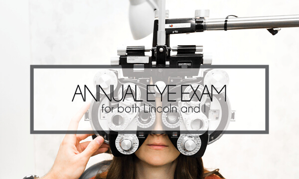 Lincoln's First Eye Exam ft. FYidoctors