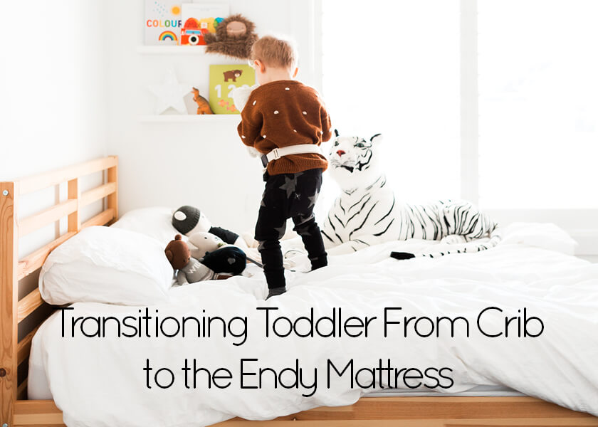 Transitioning Toddler From Crib to the Endy Mattress